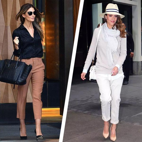 Капри: идеальные брюки для женщин 40+. С чем их носят звезды?