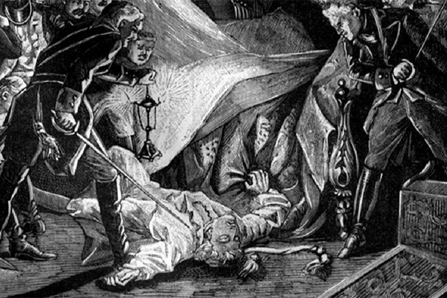 О смертях помазанников Божиих