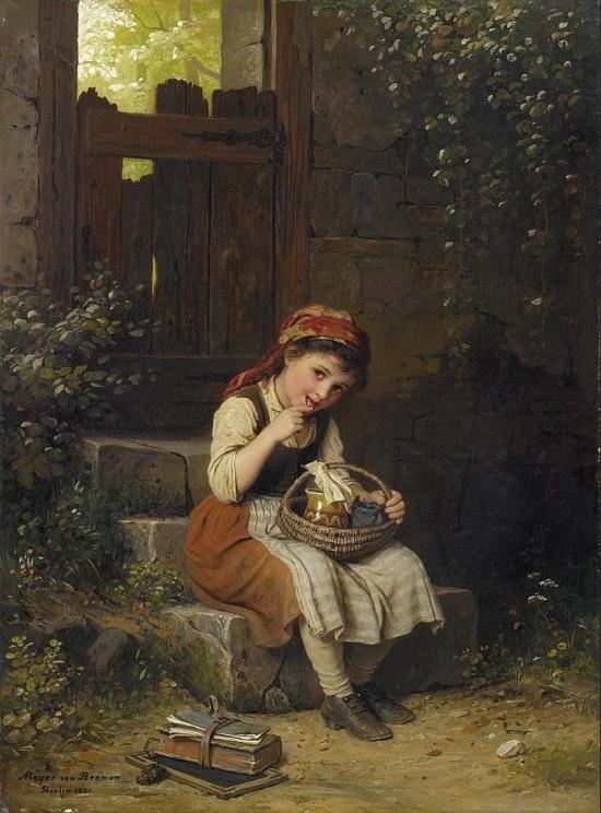 художник Иоганн Георг Майер фон Бремен (Johann Georg Meyer von Bremen) картины – 19