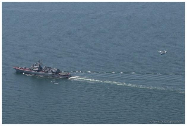 Украинский флот «уплыл» от России к точке невозврата.