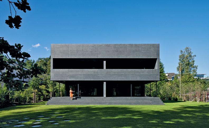 Жилой дом Twin Houses от Lussi + Halter. Кастаниенбаум, Швейцария