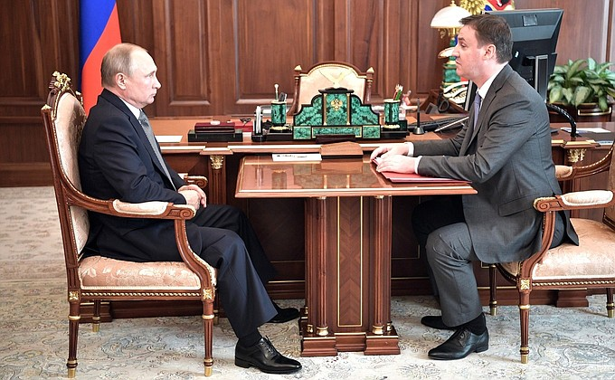 Встреча с Министром сельского хозяйства Дмитрием Патрушевым