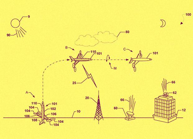 Qualcomm придумала постоянно летающие переворачивающиеся беспилотники