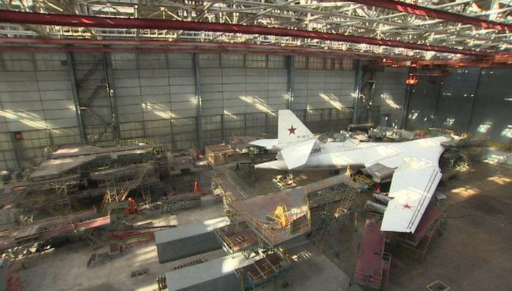 В Казани выкатили новый ракетоносец Ту-160