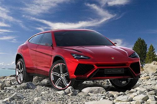 Кроссовер Lamborghini будут собирать в Словакии