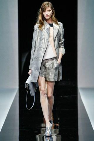 Emporio Armani на Неделе моды в Милане