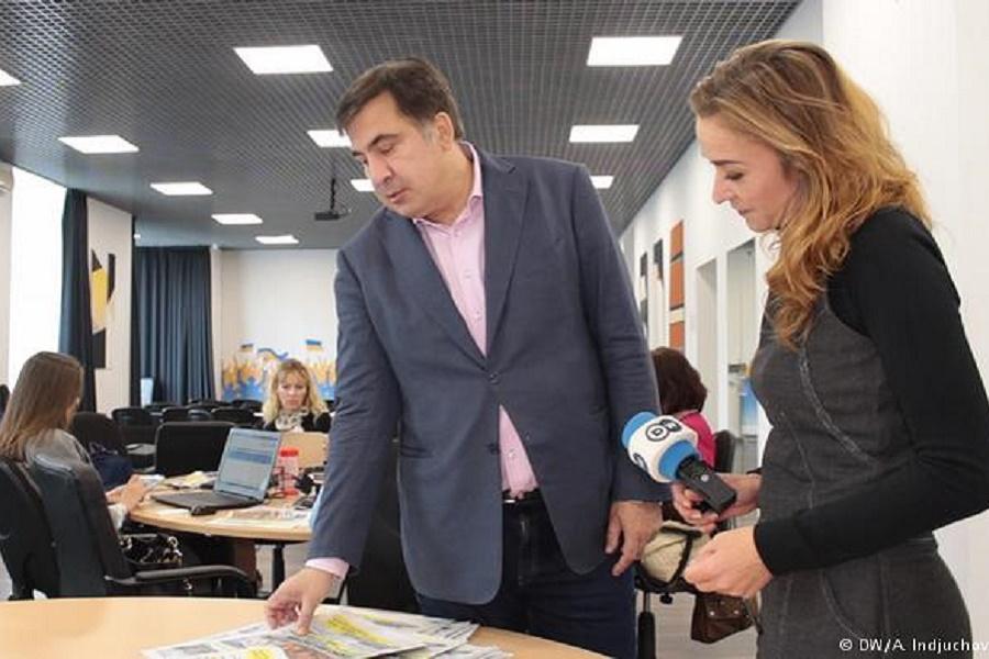 Саакашвили считает, что Украина нуждается в полном Саакашвили