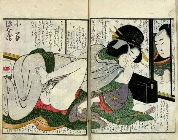 Японское эротическое искусство античности (18+)