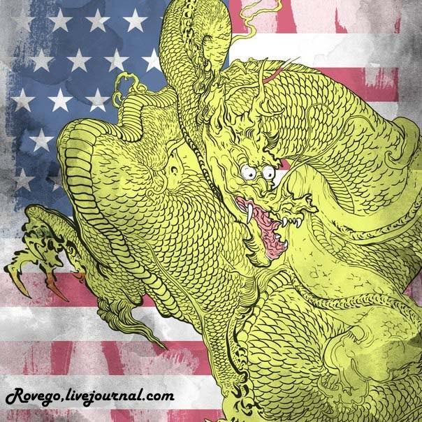 Китай угрожает США больше Эбола и Исламской угрозы