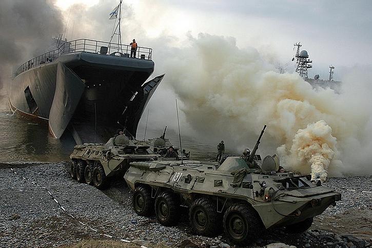 Киев с ужасом ждёт русский десант на Азовском море