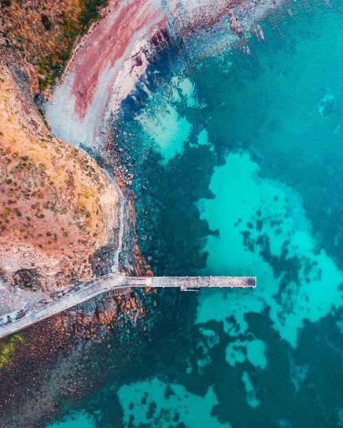 Живописное австралийское побережье в снимках дрон-фотографа Бо Ле (17 фото)