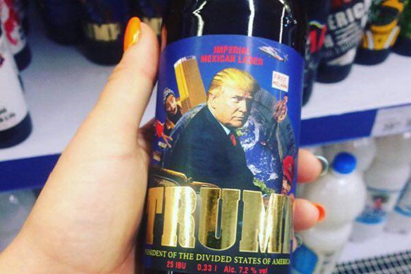 Во Львове уже забыли о Хиллари и наладили выпуск пива «Трамп»