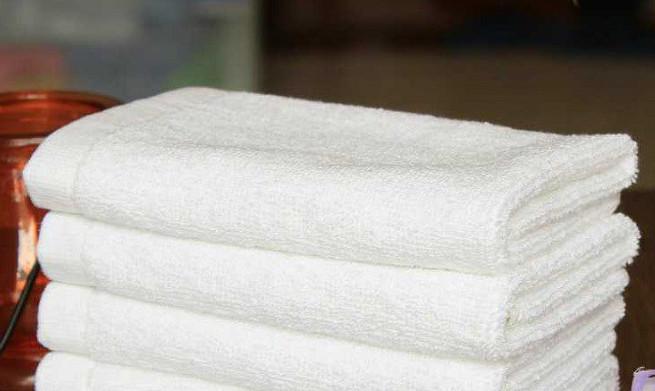 Как сделать полотенца белыми…