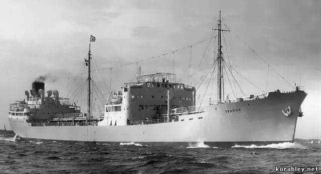 Как у СССР похитили судно и моряков