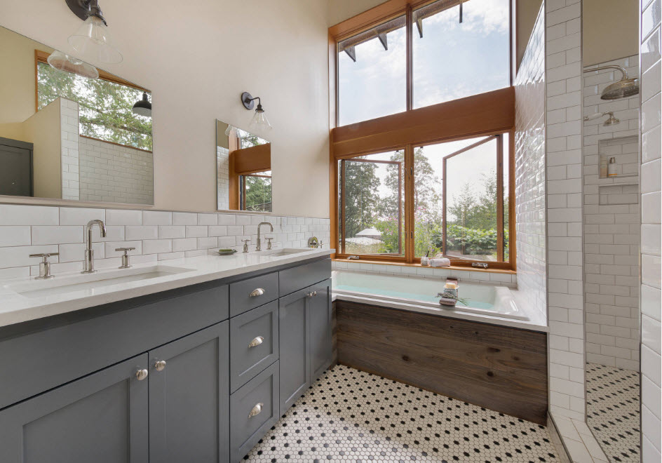 Две раковины для ванной