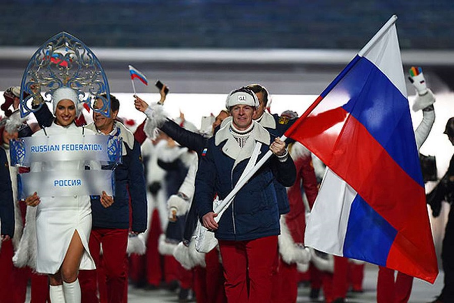 Выйти на открытие Олимпиады …