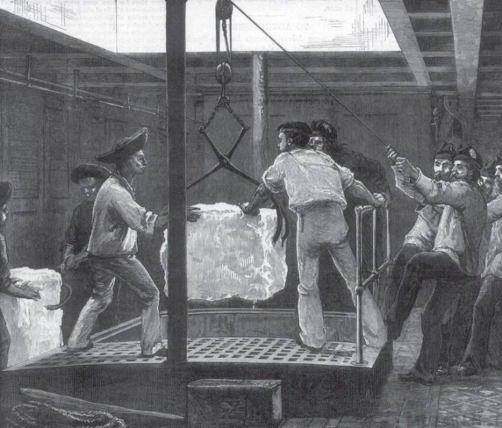 Как британцы возили лед в Индию