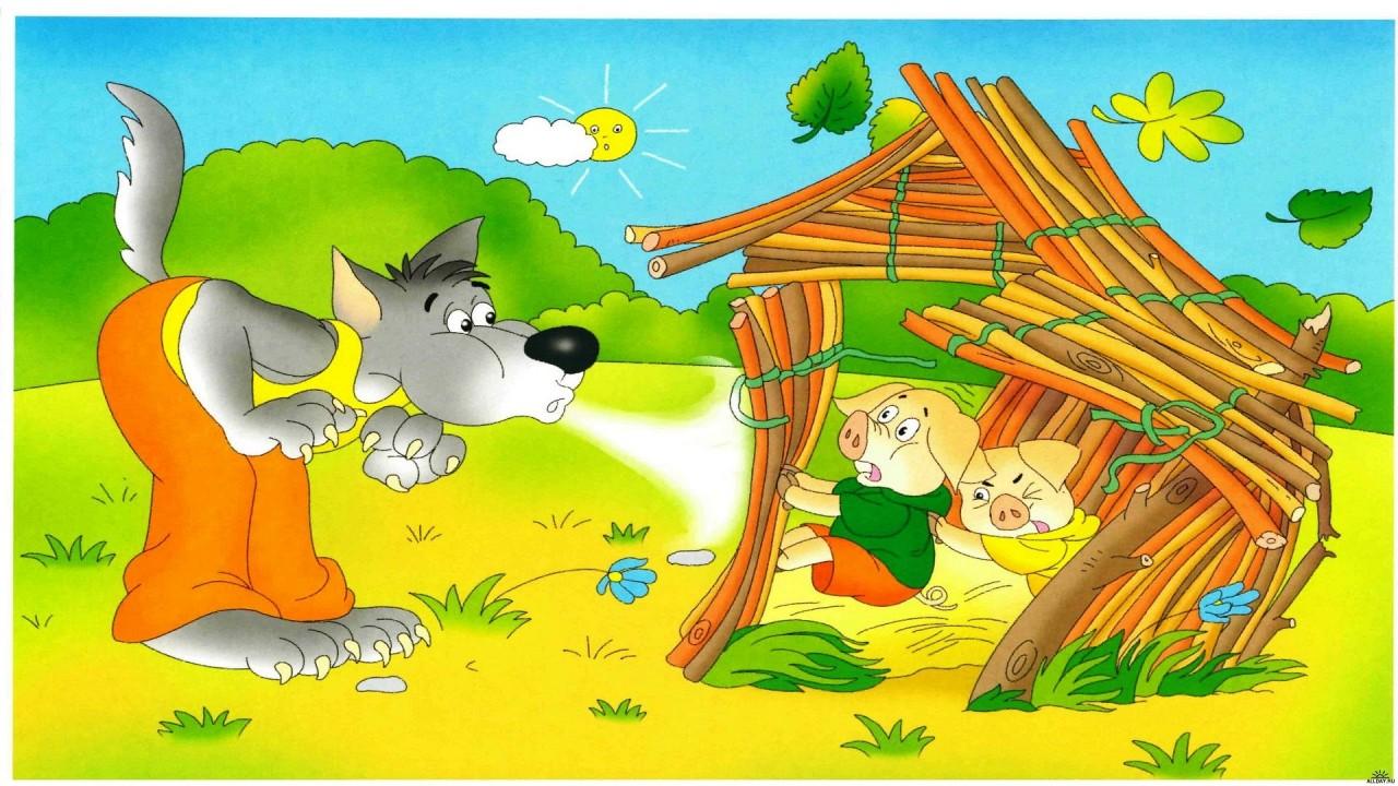 Детский мир. Загадки про героев мультфильмов и сказок