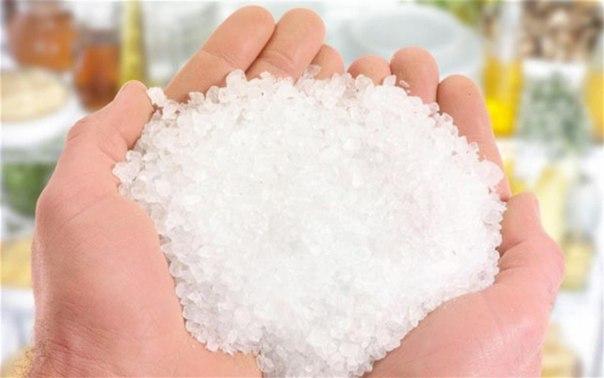 Нетрадиционный метод лечения солью