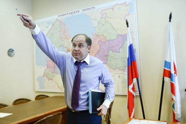 Задержан вице-губернатор Лен…