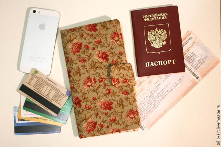Кошелек - органайзер для документов