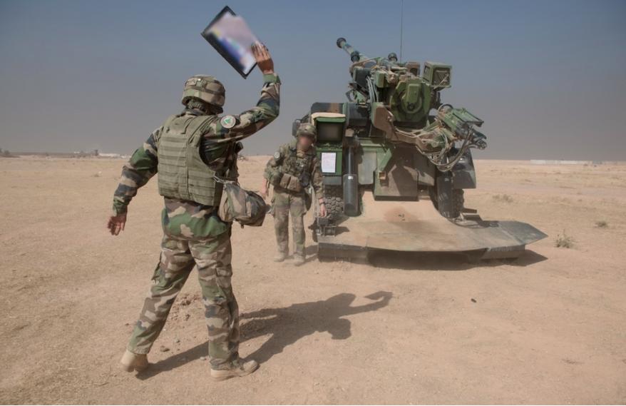 Четыре французские гаубицы выпустили по Мосулу более 1000 снарядов