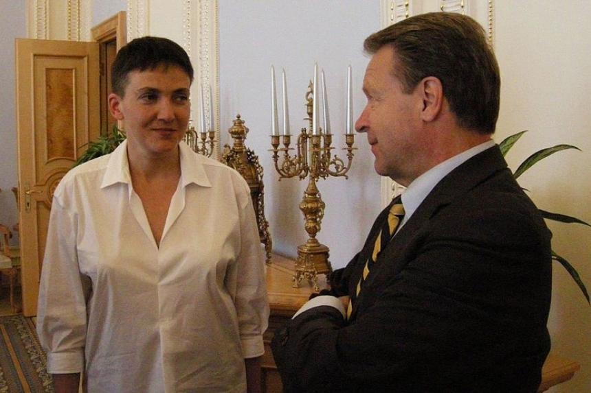 Савченко хочет освободить Донбасс, отказавшись от претензий по Крыму