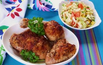 Курица в имбирном маринаде