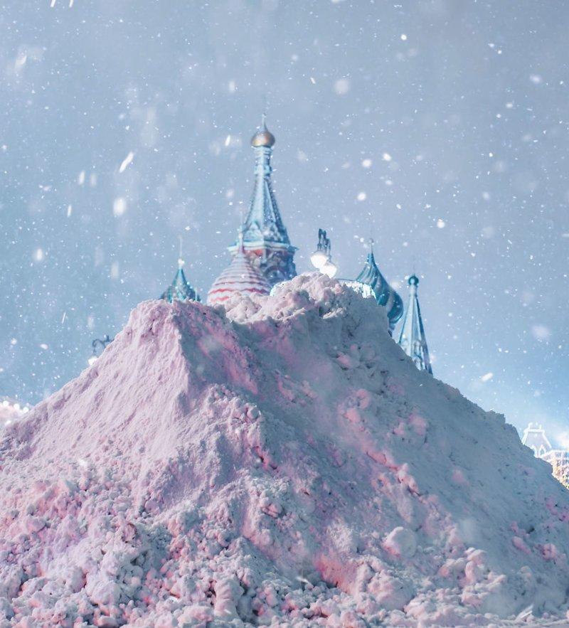 21. достопримечательность, зима, кристина макеева, москва, сказка, снег, фотография, фотомир