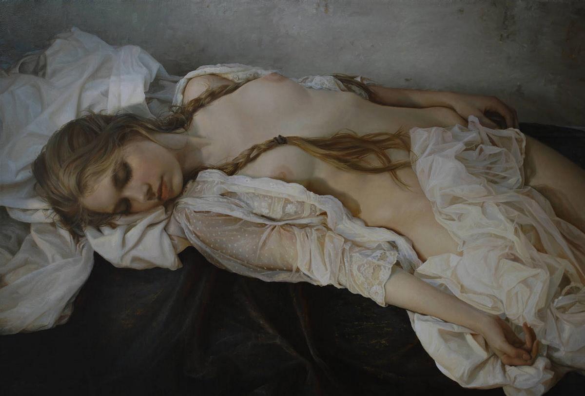 Фото девушка спит обнаженная 6 фотография