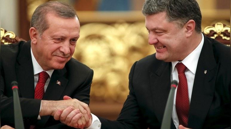 Эрдоган заявил Порошенко, что Турция не признает Крым частью РФ