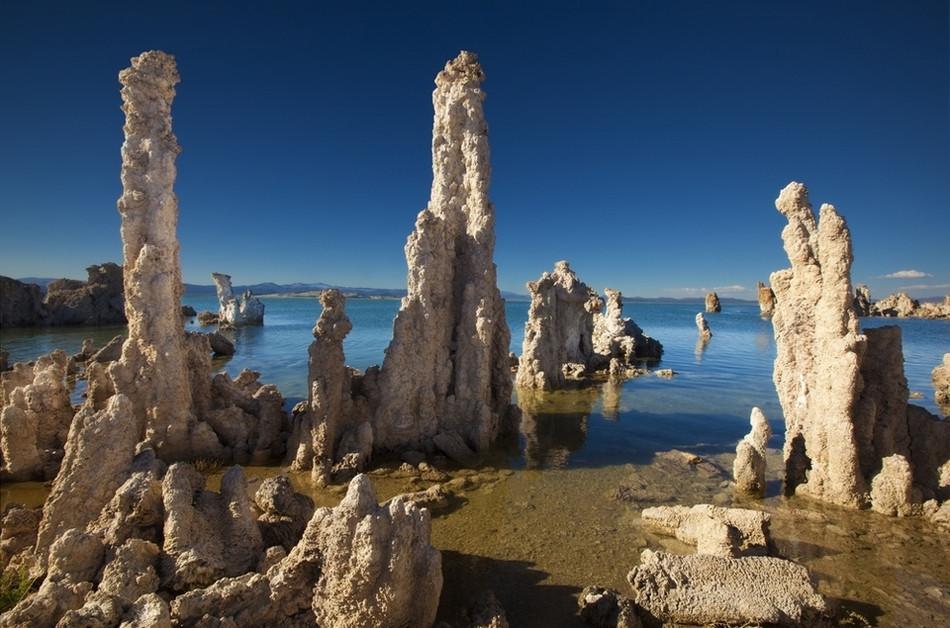 Озеро Моно, Калифорния геология, история с географией, красота, скалы