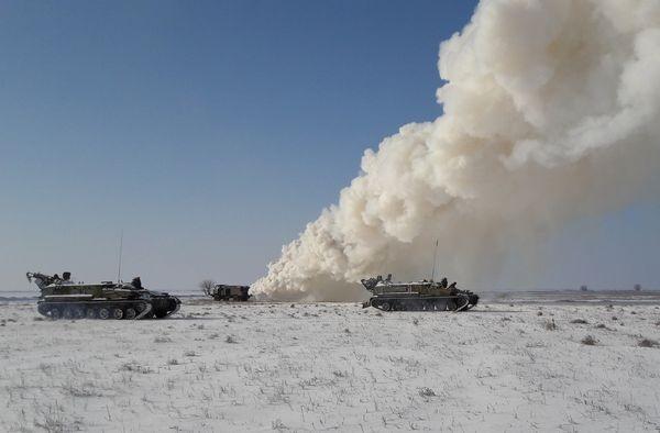 Украинские ракетчики вновь провели учения вблизи Крыма