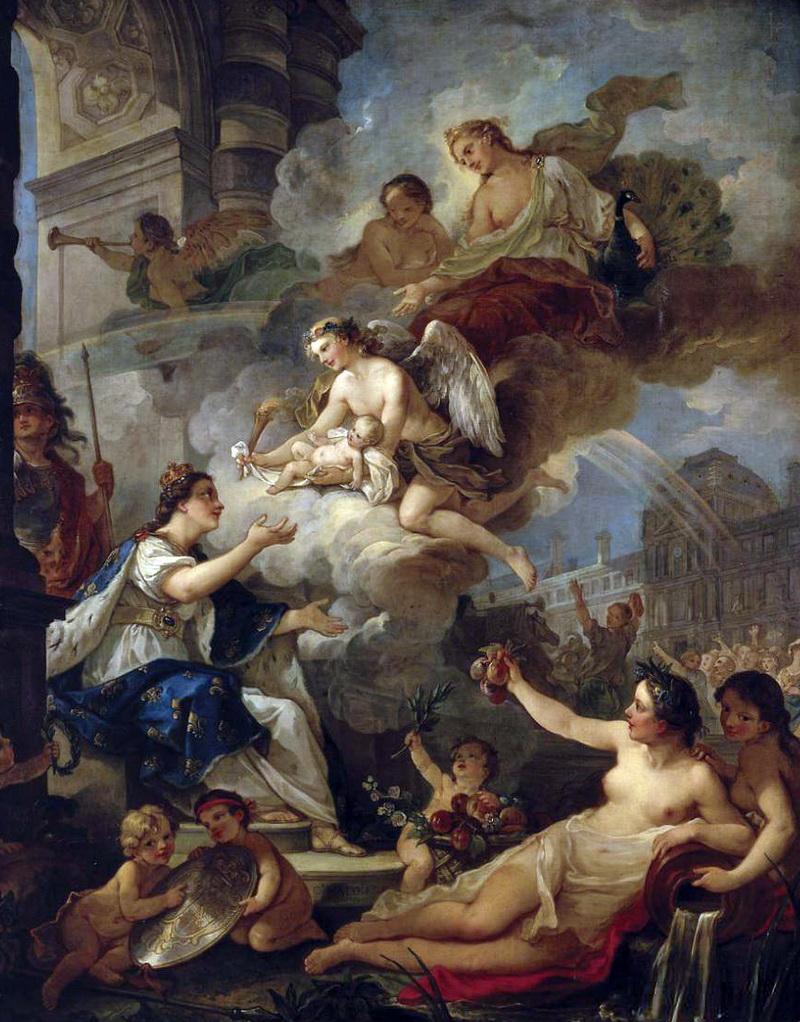 Версаль. Франция. Часть 17.