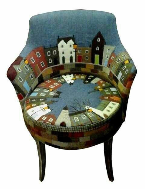 Кресло Город