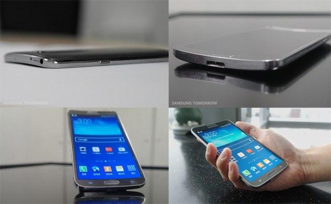 Samsung представили Galaxy Round с гибким дисплеем
