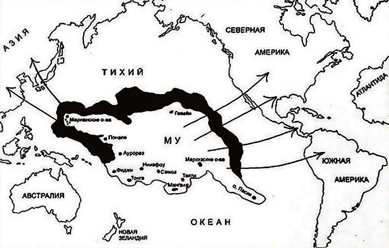 Культура и цивилизация пришли из «страны Му»