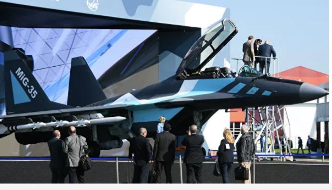Разработчик раскрыл технические характеристики новейшего истребителя МиГ-35