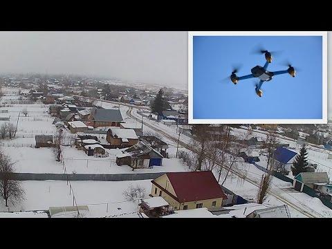 3 метра над уровнем неба с.Тимашево (Квадрокоптер Hubsan h501s)