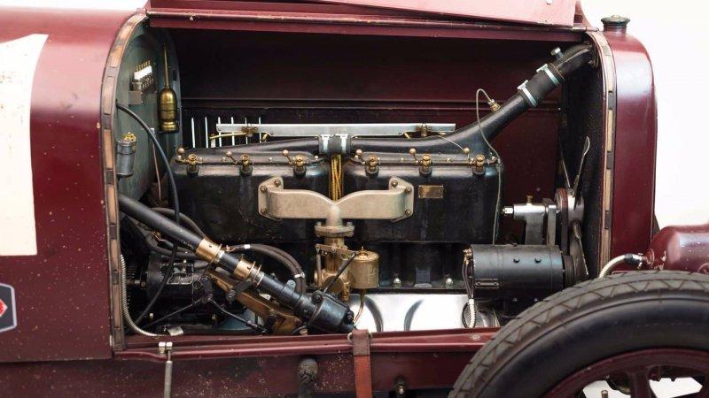 Уникальная Alfa Romeo G1 1921 года на продажу-32 фото-