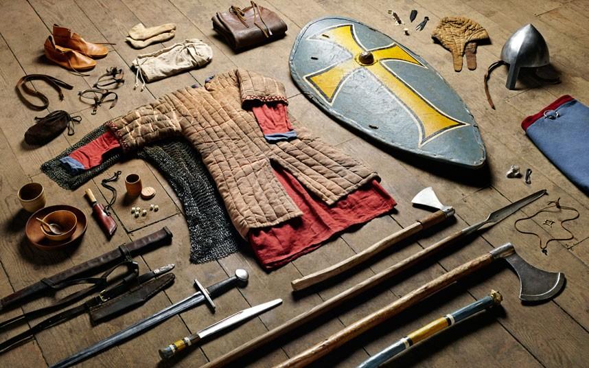Амуниция и одежда британского воина сквозь века