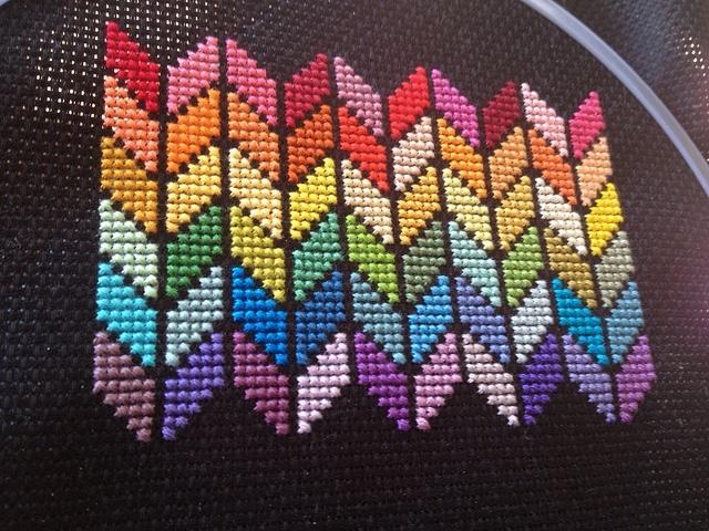Большая подборка примеров креативной и современной вышивки