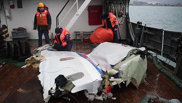 Эксперты назвали неправдоподобной появившуюся в СМИ версию крушения Ту-154