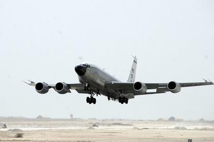 Самолет-шпион у границ России отследили через мобильное приложение