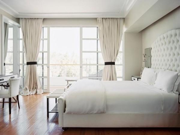 сочетание цветов в интерьере спальни оттенки белого
