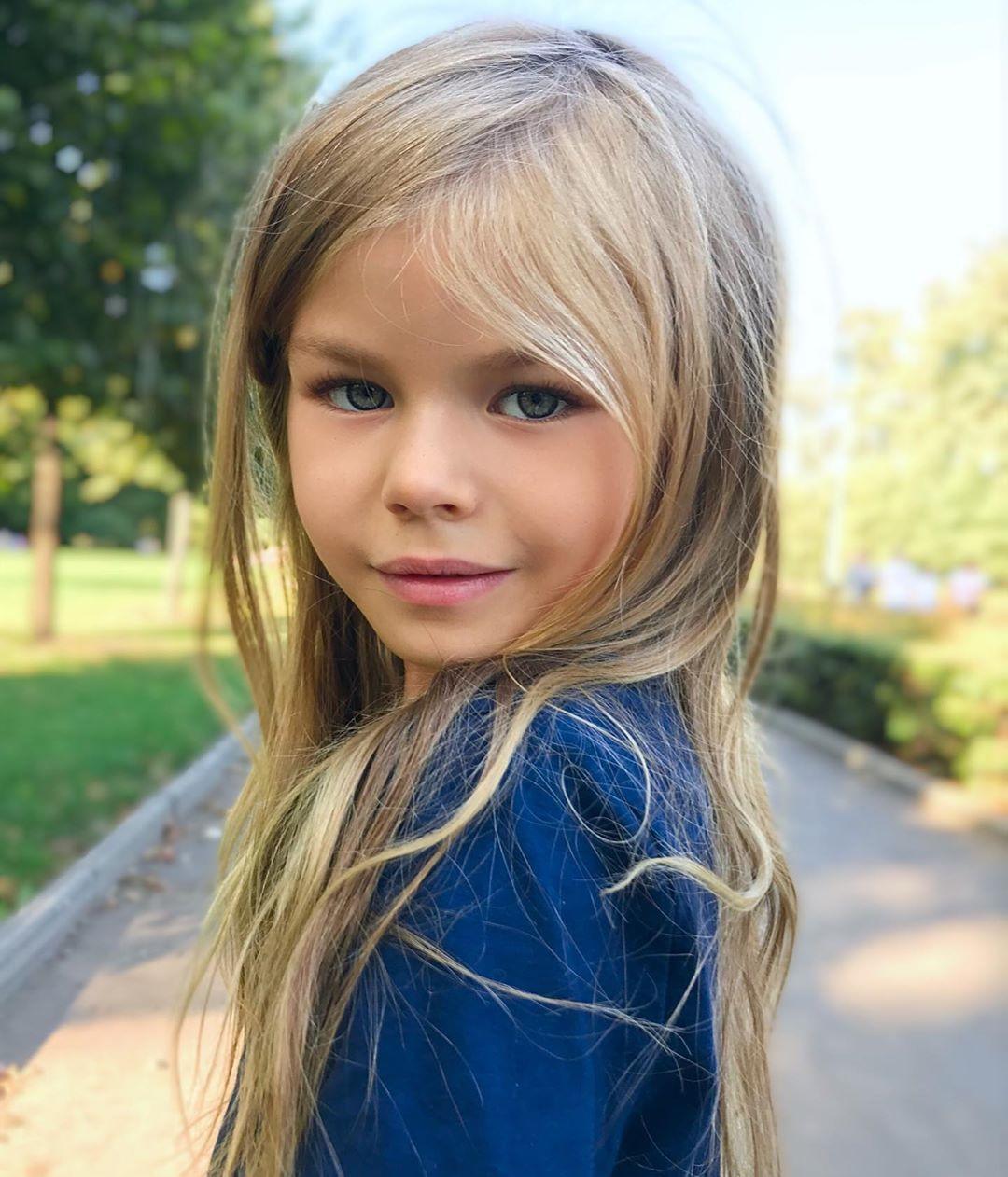 Титул «самой красивой девочки в мире» перешел к 6-летней Алине Якуповой