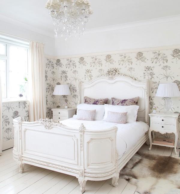 сочетание цветов в интерьере спальни оттенки бледно-кремового молочного белого