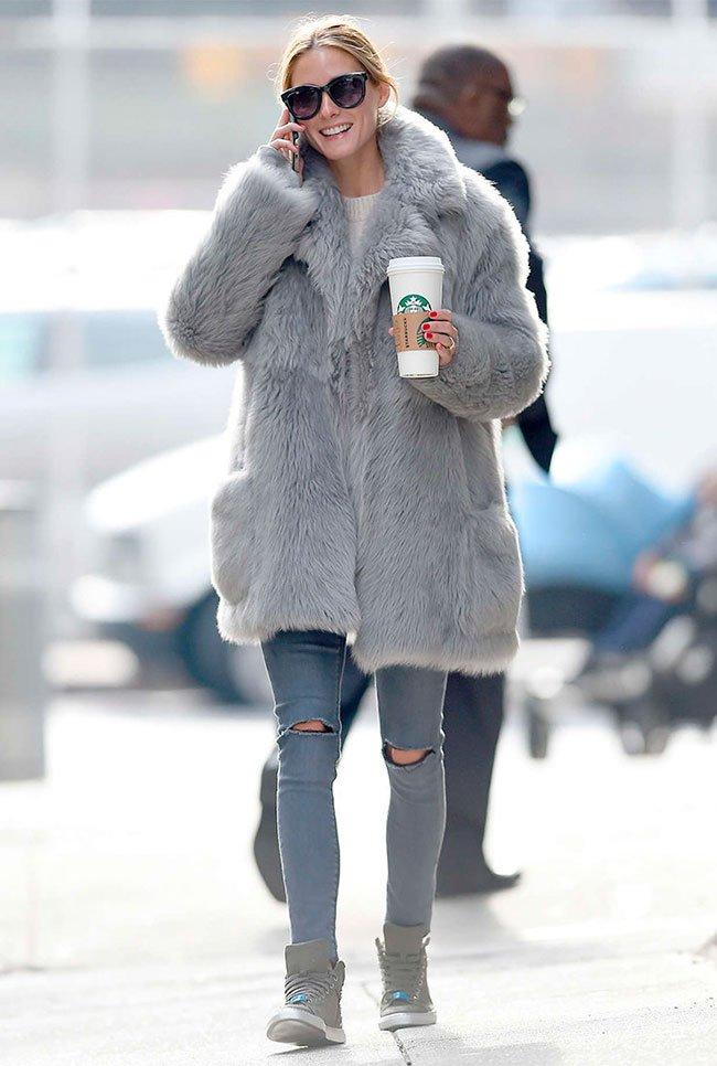 Как и с чем носить мех этой зимой?