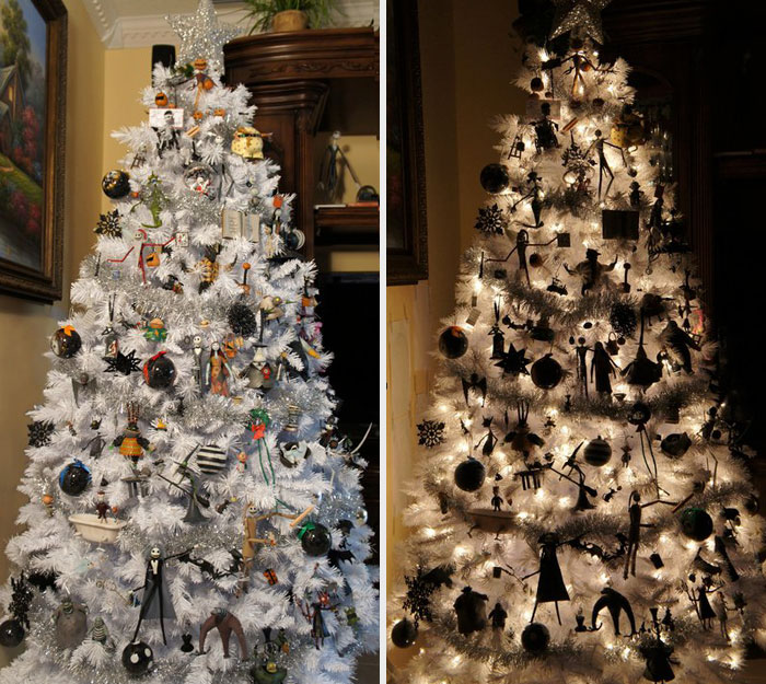 Halloween Christmas Trees Are A Thing Now (8+ Pics)