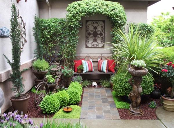 Как превратить маленький дворик в удобное место для отдыха